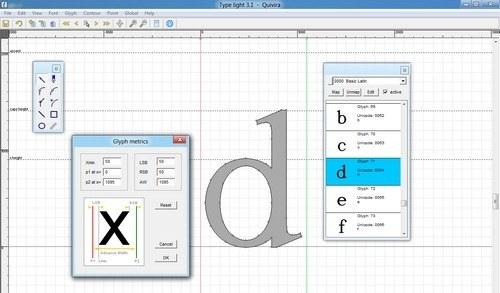 7 herramientas para diseñar fuentes tipográficas gratis