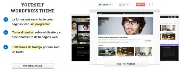 themeyourself, un tema premium de WordPress flexible, profesional y ...