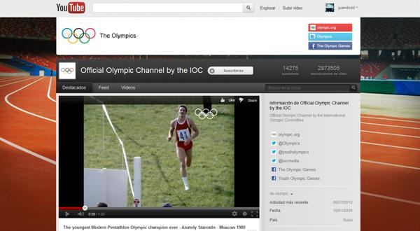 YouTube Olympics