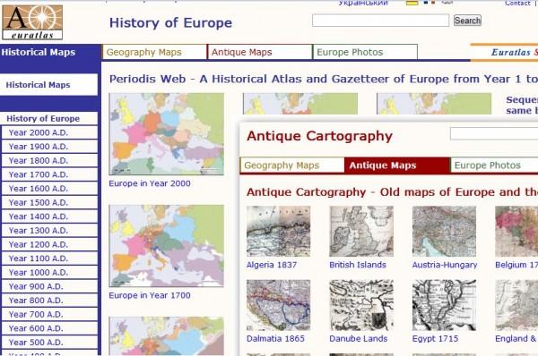 mapas europa