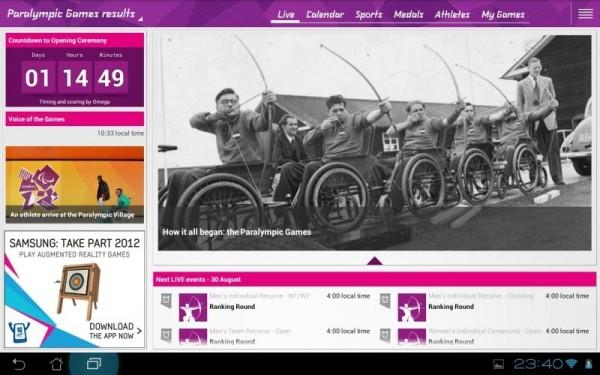 app juegos paralimpicos londres 2012