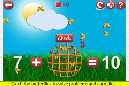 Butterfly Math Addition