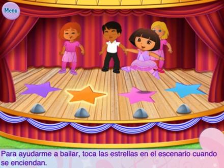 Clase de Ballet Dora la Exploradora