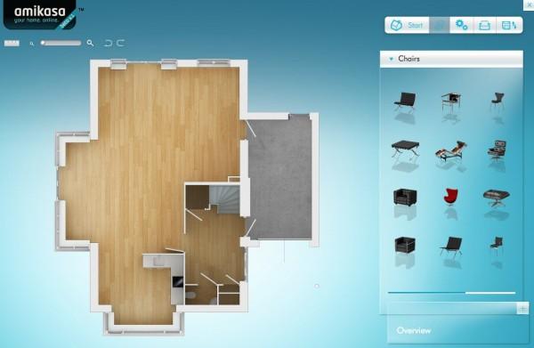 Amikasa herramienta para dise ar en 3d el interior de tu for Programa para crear espacios interiores