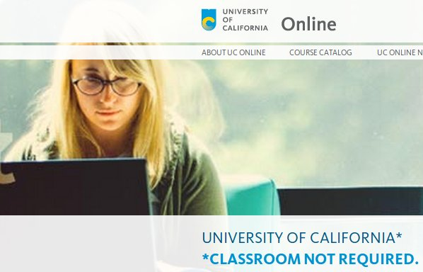 cursos online universidad california