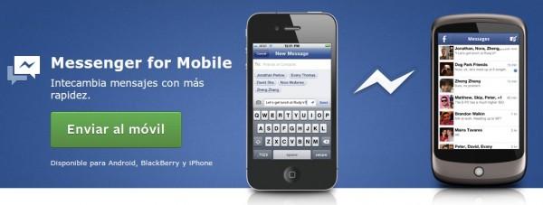 chat de facebook en móvil