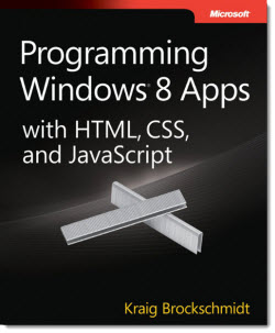 Programando  para Windows 8 con HTML, CSS y JavaScript