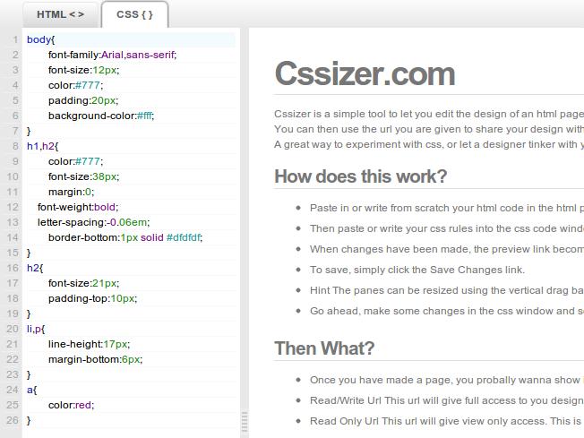 Recursos web para practicar y trabajar con CSS