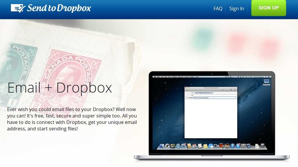 Nueva versión de Send to Dropbox, excelente forma de integrar Email con Dropbox