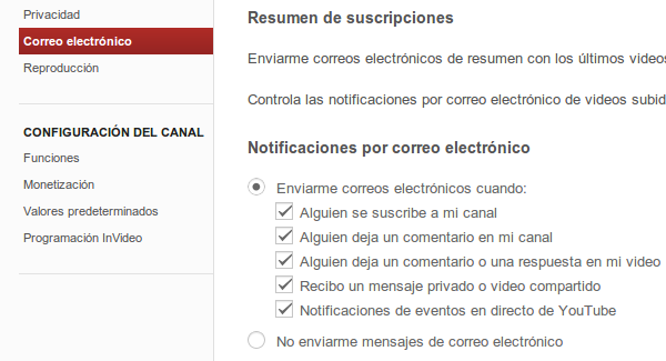 notificaciones youtube 2