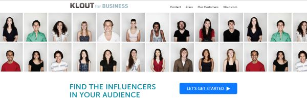 Klout for Business