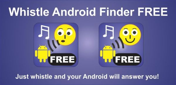 Whistle Android Finder