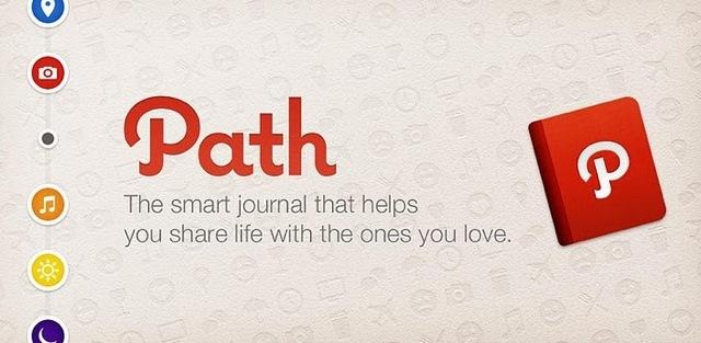 Path implementa el uso de hashtags en su nueva versión para iOS