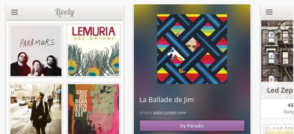 Lively.fm, descubriendo y reproduciendo música en streaming en iOS