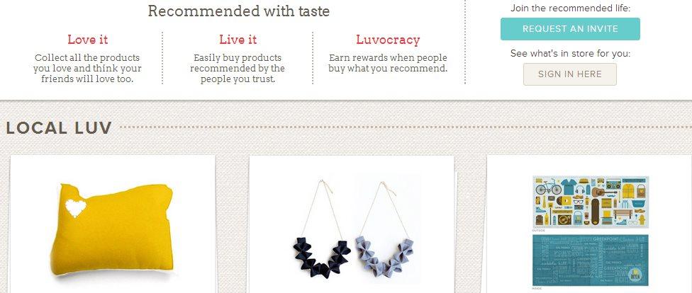 Luvocracy, el Pinterest de los compradores online
