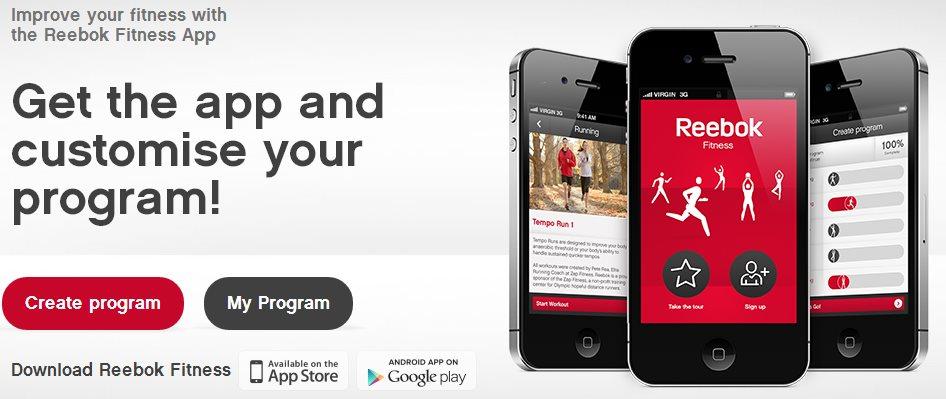 Reebok Fitness, programas y consejos para ejercitar en iOS y Android