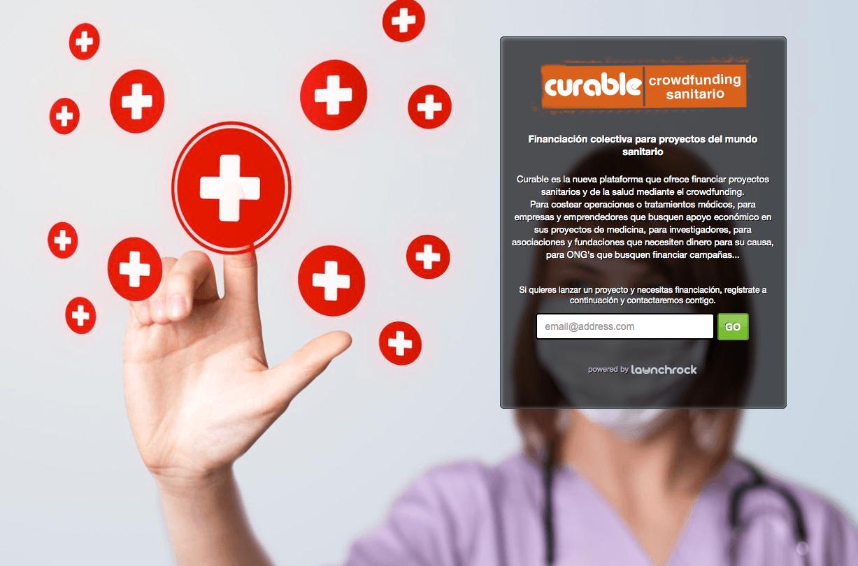 Se acerca Curable, plataforma que permitirá financiar operaciones, tratamientos médicos, etc.