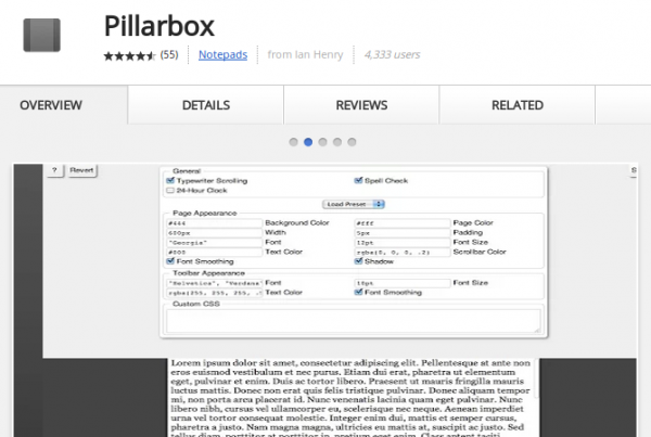 pillarbox