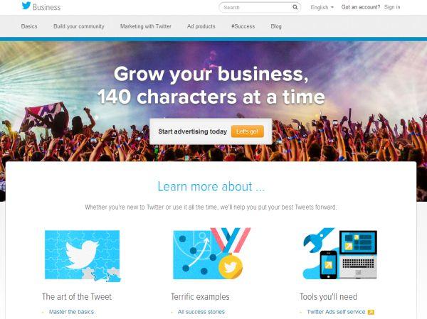 Twitter renueva su espacio dedicado a las empresas