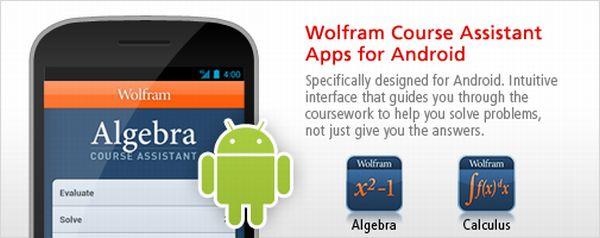 Aplicaciones Wolfram para Android