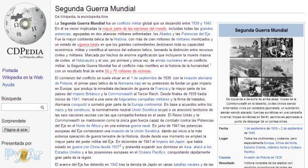 cdpedia wikipedia offline