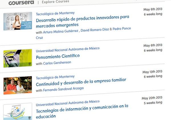 38 cursos universitarios, online y gratuitos que comienzan en Mayo