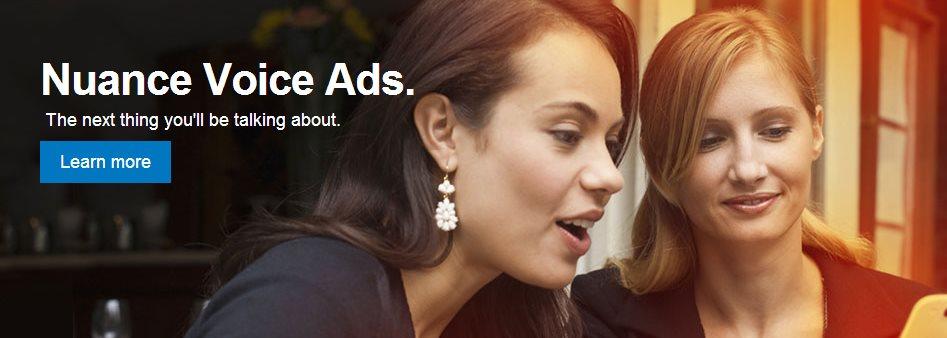Nuance, compañía especializada en tecnologías de voz, presenta anuncios interactivos con voz