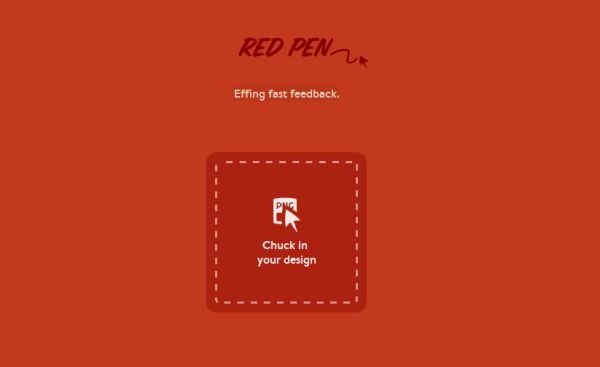 Red Pen, recibe el feedback rápidamente sobre tus trabajos gráficos