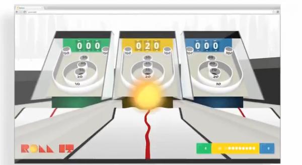 Roll It, un nuevo juego hecho por Google para demostrar el poder de Ch