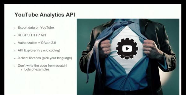 YouTube Analytics API