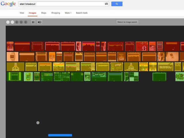 Un juego se esconde en el buscador de imágenes de Google