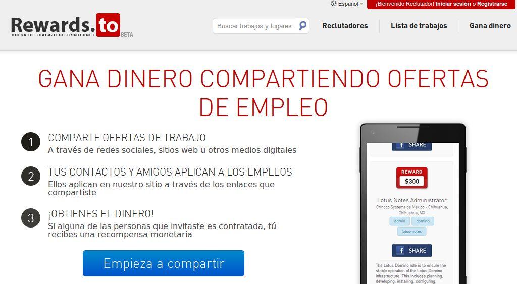 Portales de empleo en español