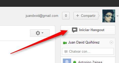 Cómo crear, organizar y participar de un hangout, paso a paso, desde el nuevo Google+
