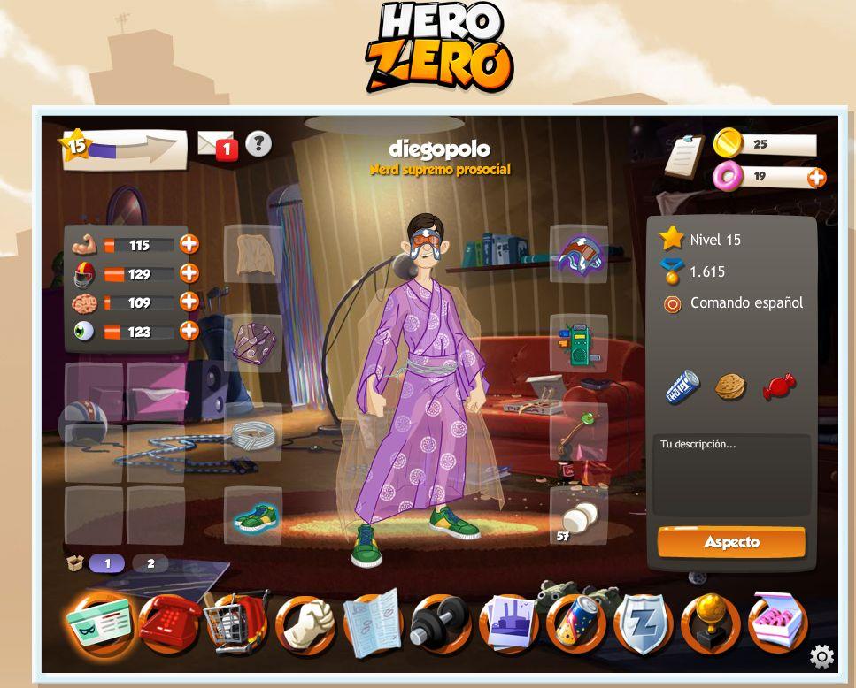 Hero Zero – Una fiebre en los juegos online