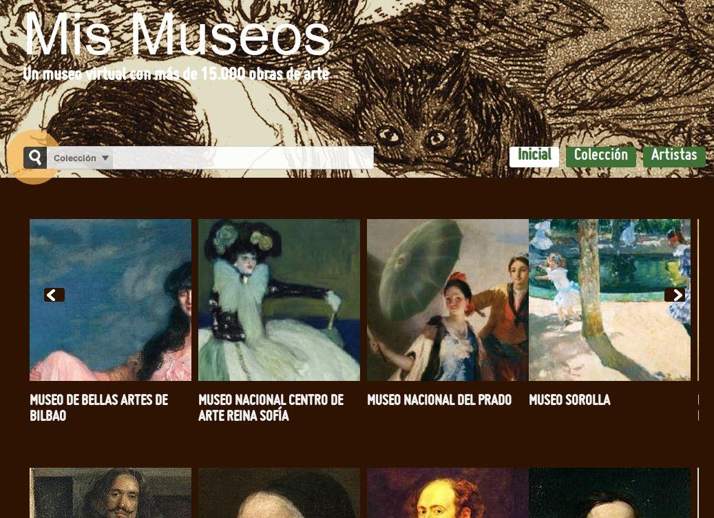 Mismuseos – 15.000 obras de arte de siete museos públicos españoles