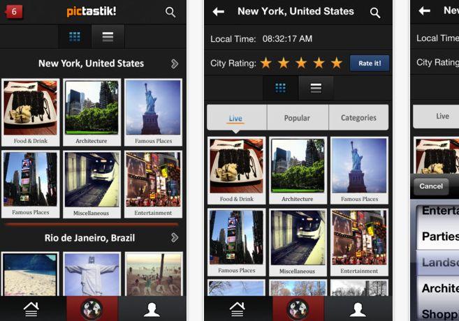 pictastik – Fotos de ciudades de todo el mundo en tiempo real