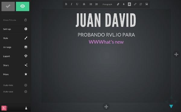 Slid.es (antes Rvl.io), la brillante alternativa para crear presentaciones online