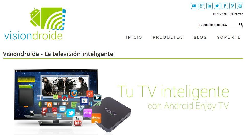 Probamos Enjoy TV – Android para tu televisor