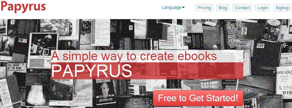 Papyrus, creando y publicando eBooks tú mismo