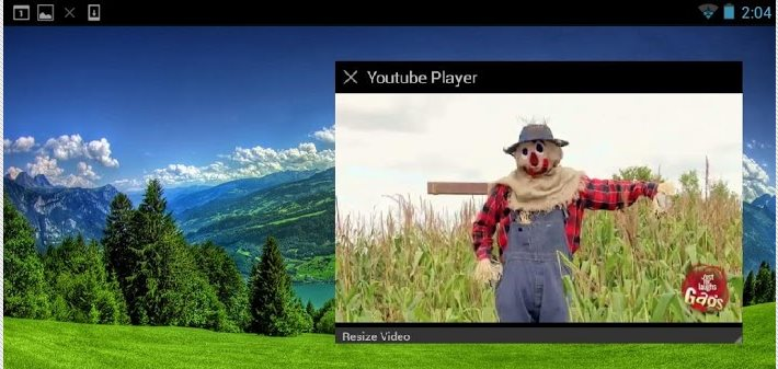 Floating Youtube Popup, vídeos flotantes en todas las pantallas de tu Android