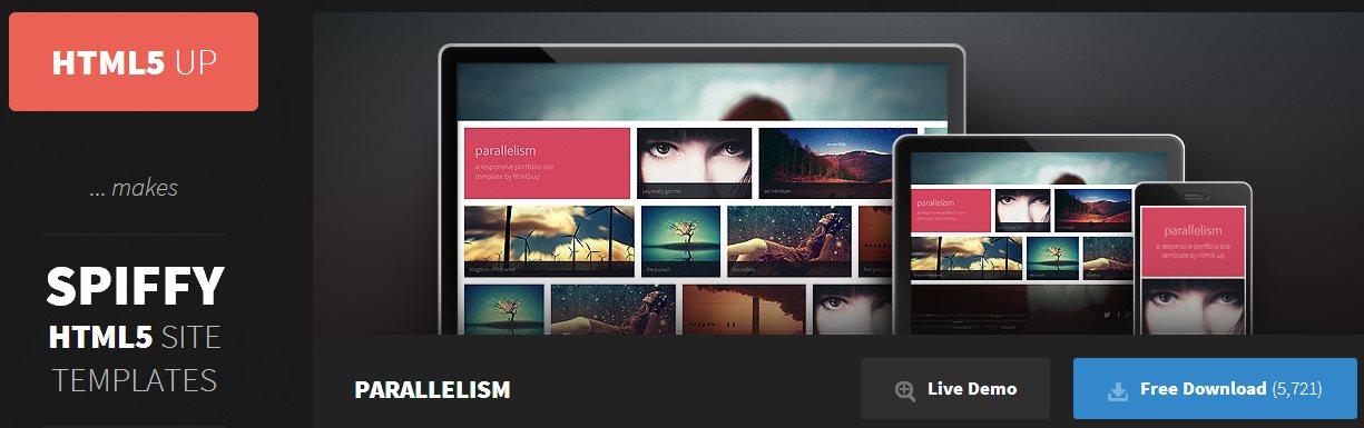 HTML5 Up!, plantillas elegantes y editables para sitios web en HTML5