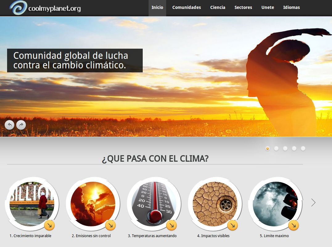 coolmyplanet – Nueva plataforma enfocada a la lucha contra el cambio climático