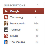 colecciones YouTube