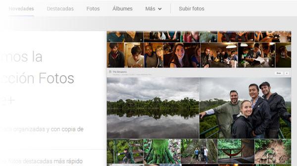 fotos Google+