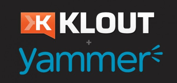 Klout Yammer
