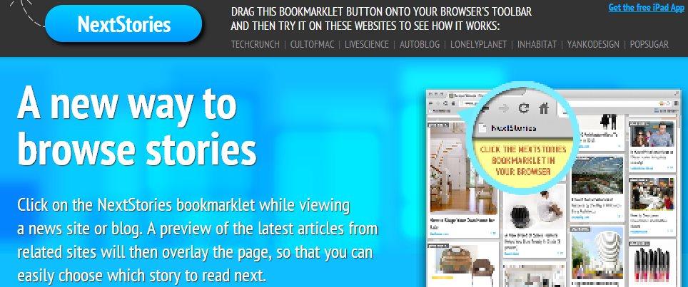 Next Stories, una nueva manera de descubrir contenido online