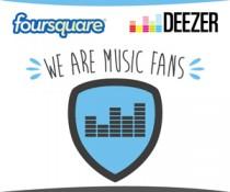 Foursquare - Deezer
