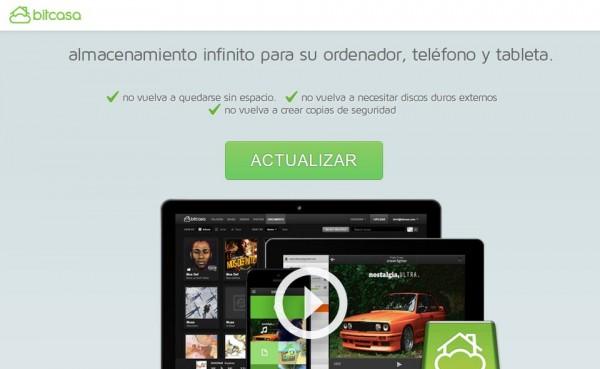 Nueva versión de Bitcasa, más segura y en español