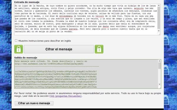 cifrar mensajes gmail
