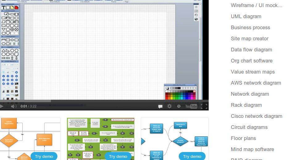 Lucidchart, para crear diagramas en la web, añade posibilidad de trabajo offline